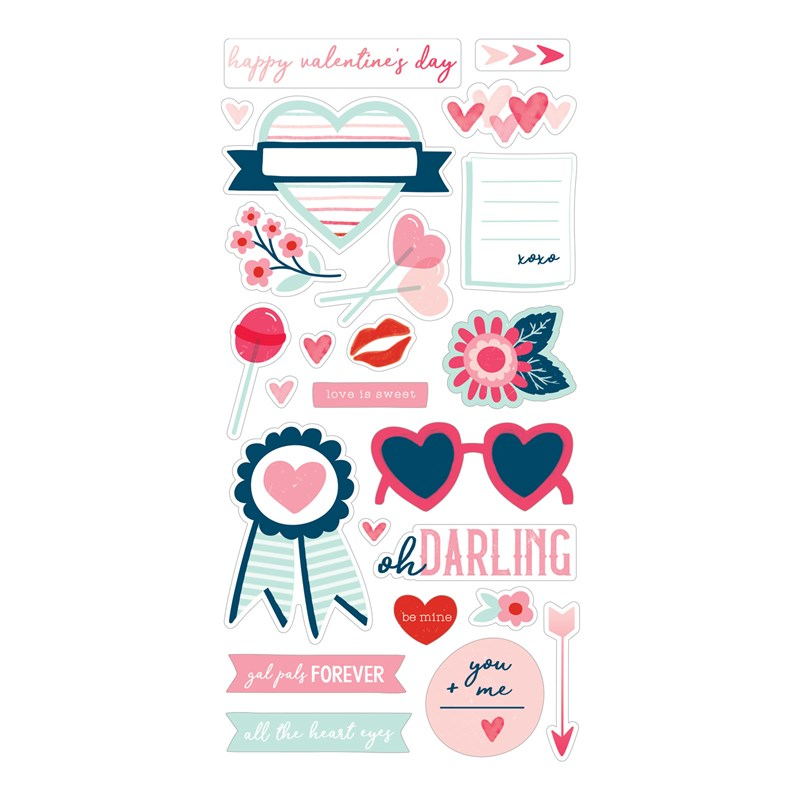 Heart Happy Stickers
