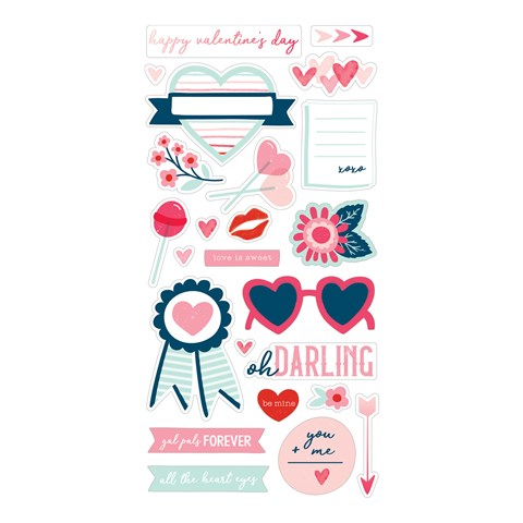 Heart Happy Stickers (CC2192)