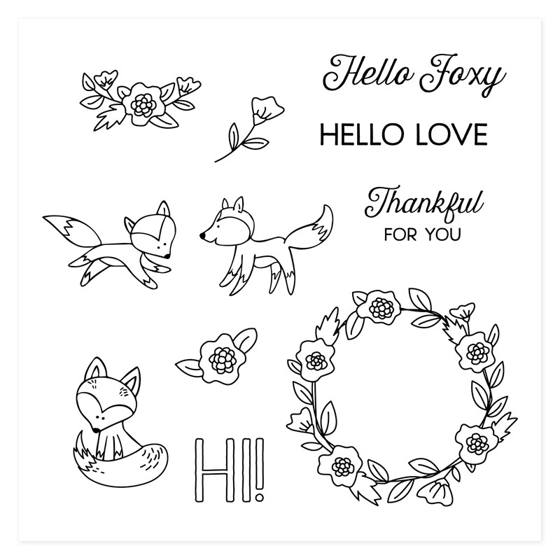 JUNE STAMP OF THE MONTH - HELLO FOXY