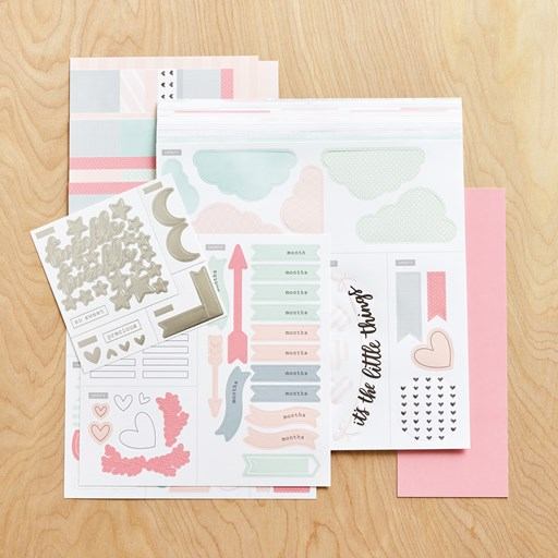 The Story Begins (Baby Girl) Cut Above® Layout Kit (Z3383)