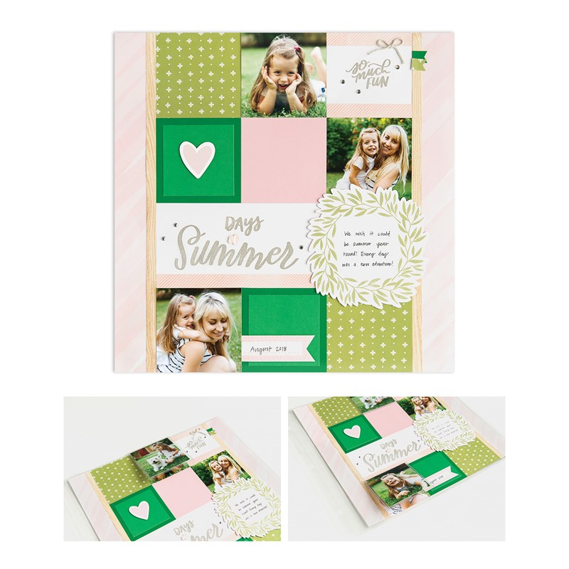 Sweet Girl Deluxe Scrapbooking Workshop Kit