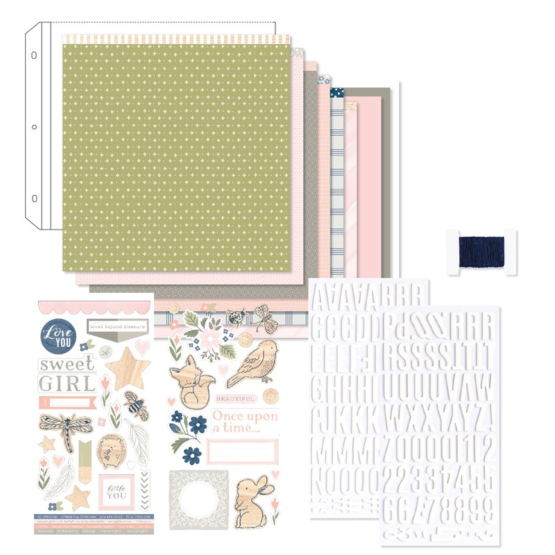 Workshops Your Way® Sweet Girl Scrapbooking Kit
