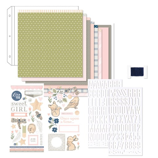 Workshops Your Way® Sweet Girl Scrapbooking Kit (G1179)