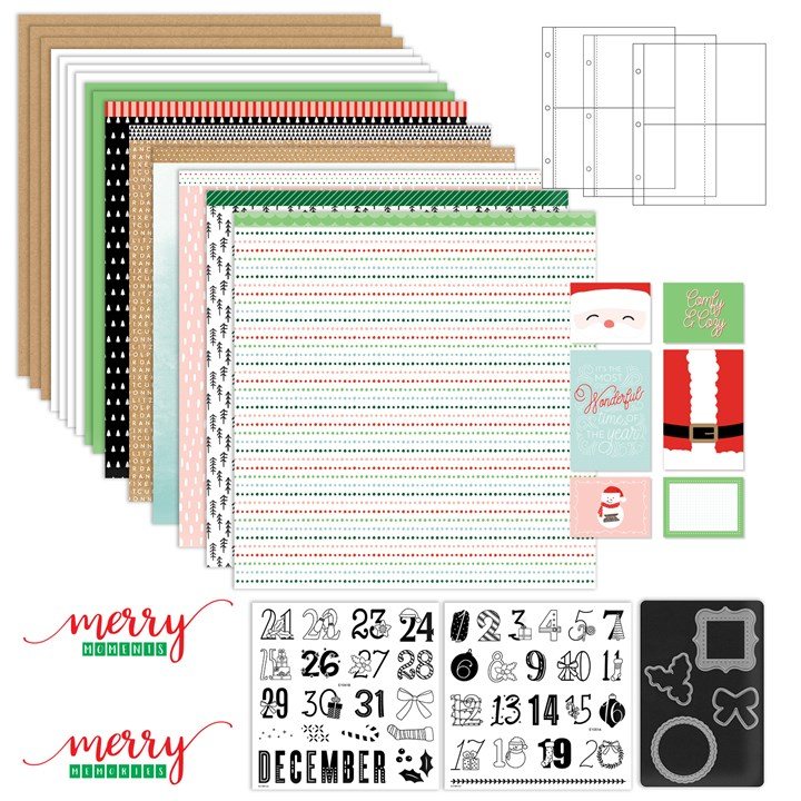 Days of December Workshop Kit with Stamp + Thin Cuts (CC10195)