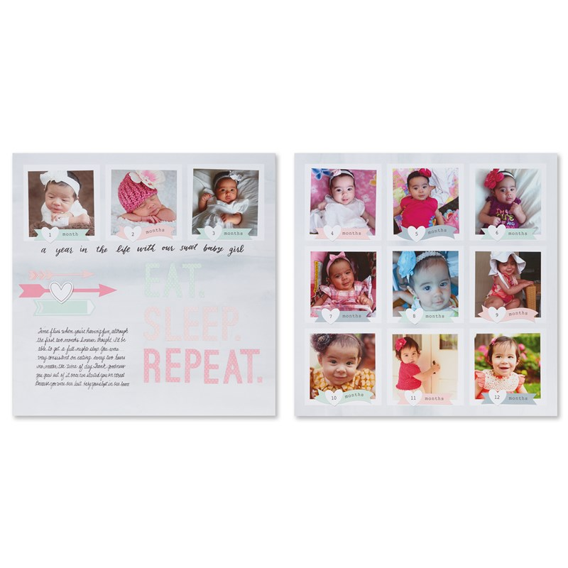 Cut Above® Layout Kit—The Story Begins (Baby Girl)