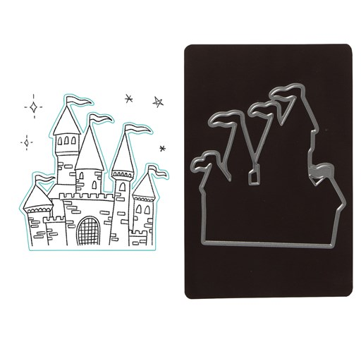 Princess Castle Stamp + Thin Cuts (Z4074)