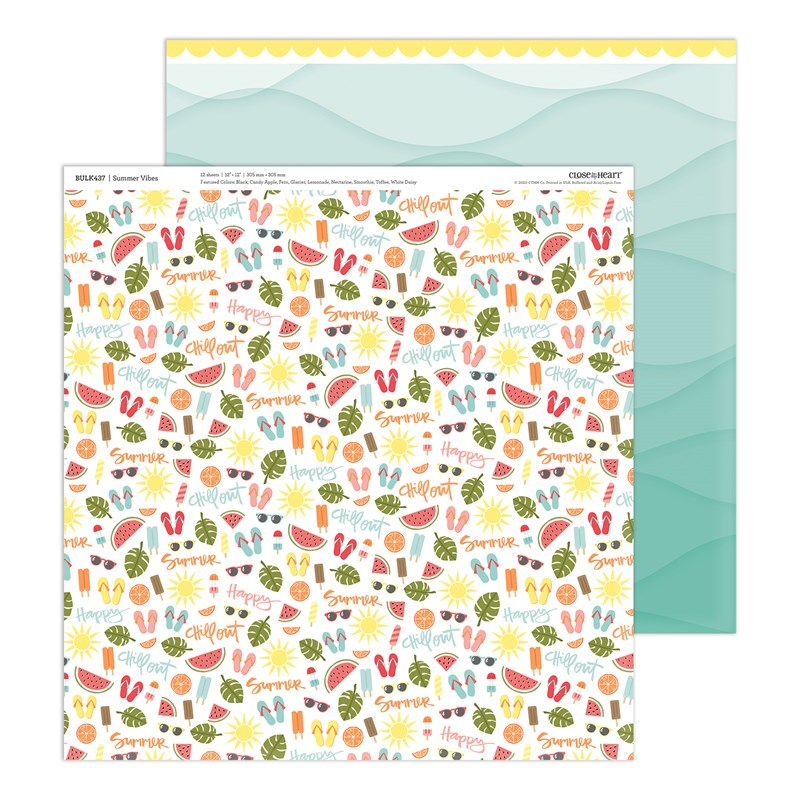 Summer Vibes Bulk Paper Packet