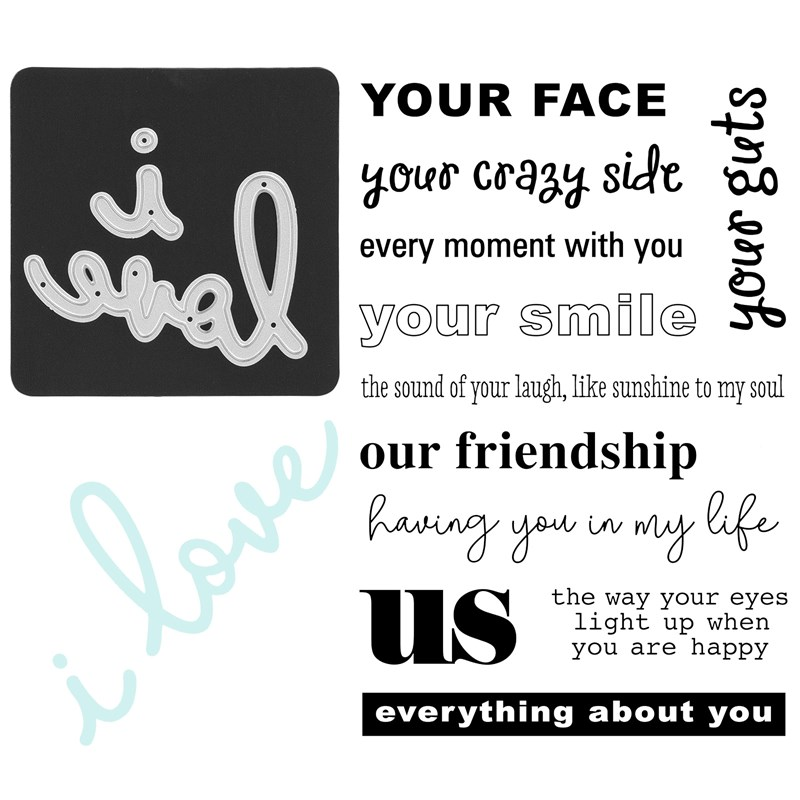 Moments with You Stamp + Thin Cuts