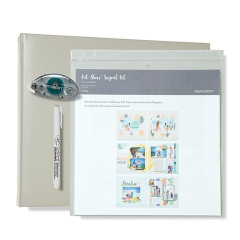Postcard Perfect D-ring Album Bundle (Grey Album) (CC5186)