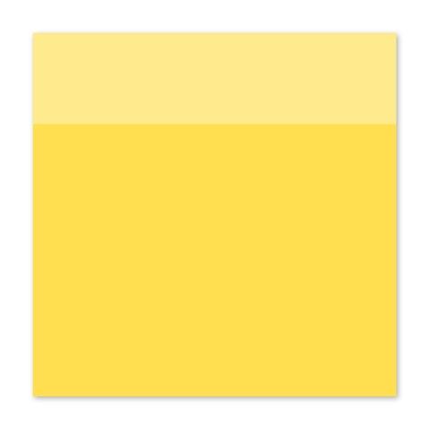 "12"" × 12"" Lemon Cardstock (X5971)"