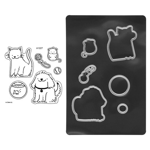 Paper Pal Pets Stamp + Thin Cuts (Z4268)