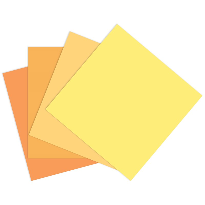 Yellow-orange Cardstock Bundle (CC32112)