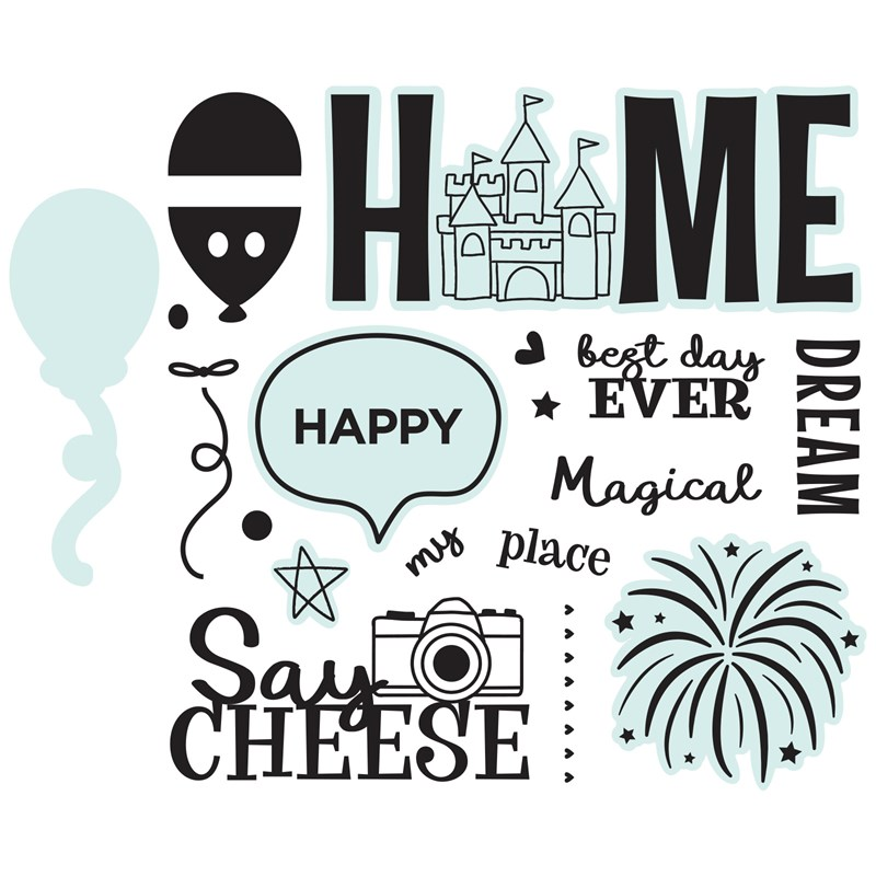 Happiest Place Stamp Set