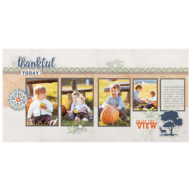Hawthorn Cut Above® Layout Kit - project 2