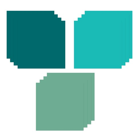 Teal Cardstock Bundle (CC6184)